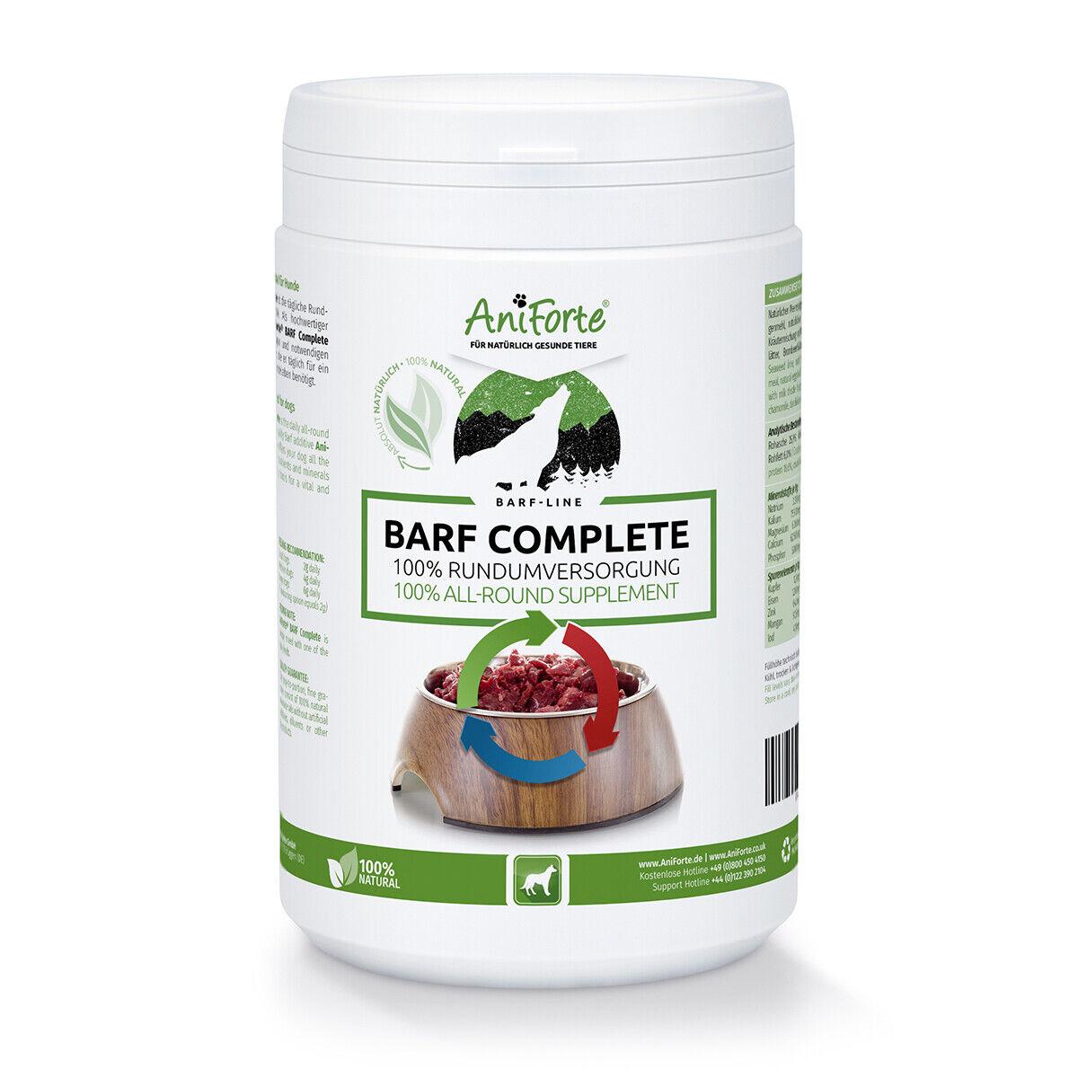 AniForte® BARF Complete Hundefutter Ergänzungsfuttermittel Zusatzfutter Hund