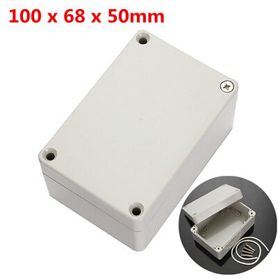 100x68x50mm Abs Plastic Electronics Project Box Enclosure Hobby Case Waterproof