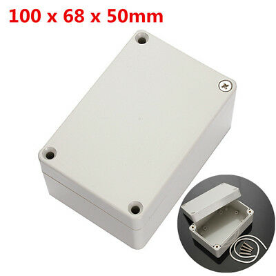 100x68x50mm ABS PLASTIC ELECTRONICS PROJECT BOX ENCLOSURE HOBBY CASE Waterproof](waterproof electronics project box)