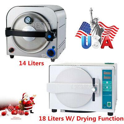 14l18l Medical Autoclave Steam Sterilizer Sterilization Dental Lab Equipment