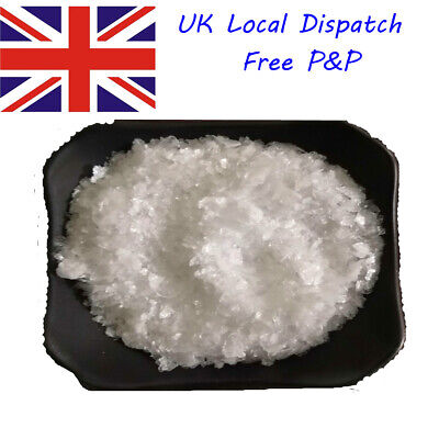 Boric Acid Flakes 99.9% Purity Magic 1Kg  Fishscale UK Ship Free P&P 1st quality