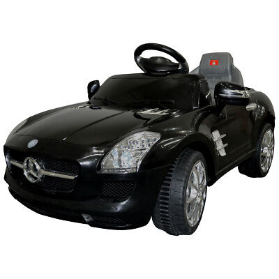 KIDS RIDE ON CAR  MERCEDES BENZ SLS AMG 6V ELECTRIC BATTERY REMOTE CONTROL NEW