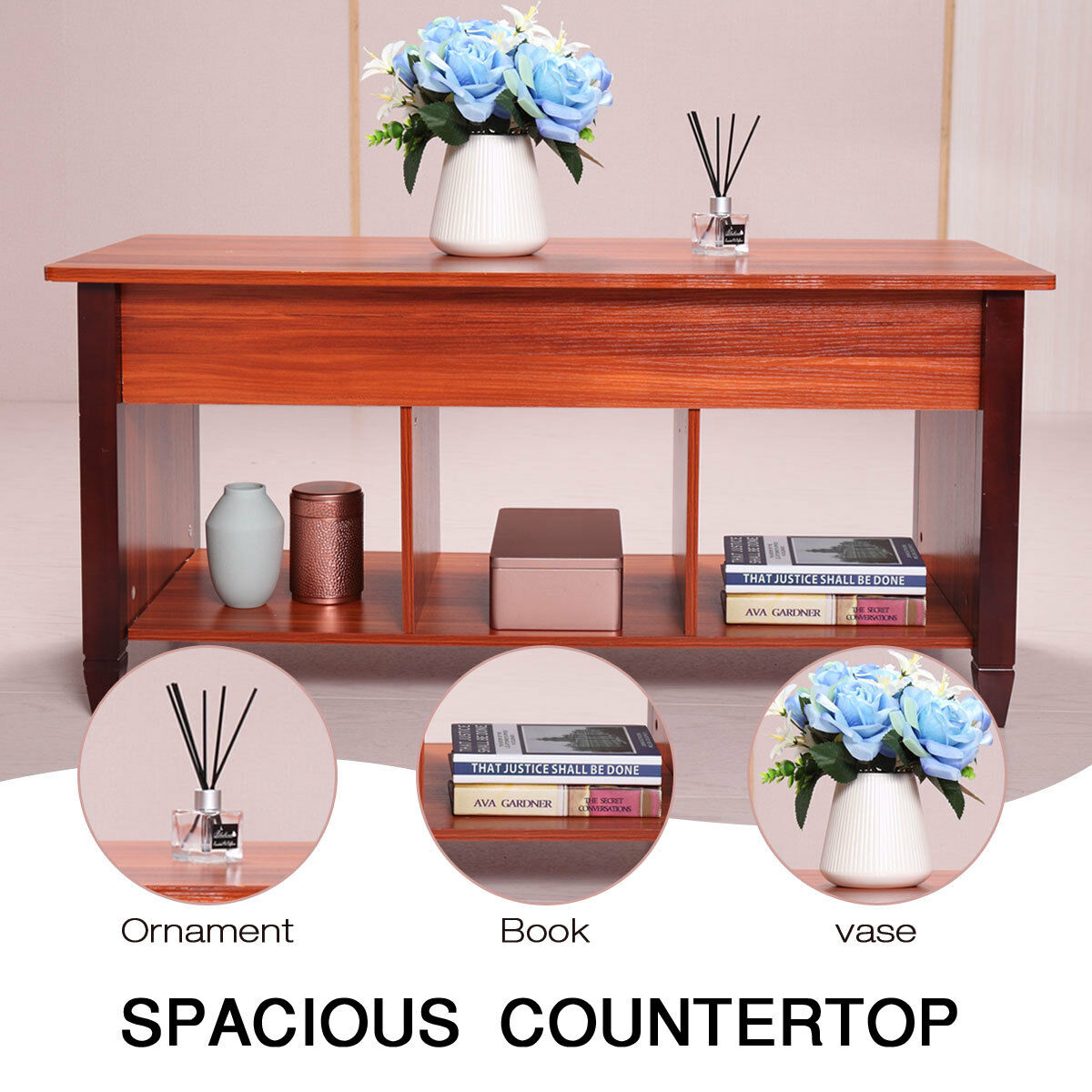 Sensational Lift Top Convertible Coffee Table Solid Wood Desk End Storage Living Room 76 49 Tables Download Free Architecture Designs Scobabritishbridgeorg