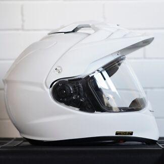 Shoei Hornet ADV adventure helmet white
