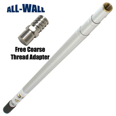 3-8 Extendable Drywall Corner Roller Handle With Free Coarse Thread Adapter