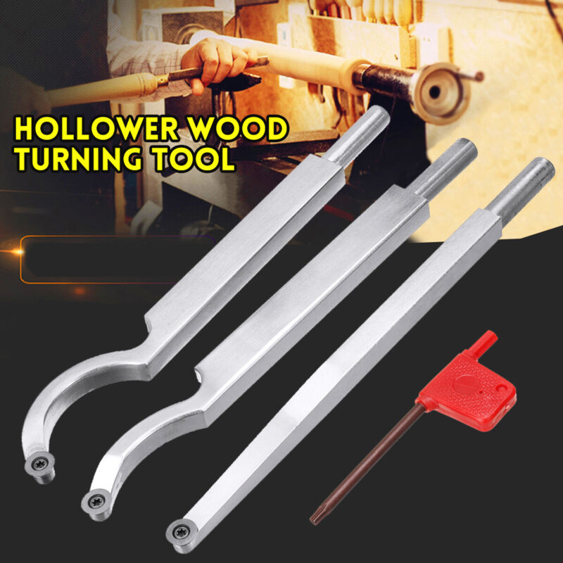 Hollower Hollowing Wood Turning Tool Handheld Wooden Rotary Lathe Hollow Shank