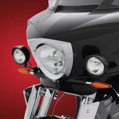 Show Chrome Black Satin 3 1/2 in. Cree LED Driving Light Kit - 30-110LBK
