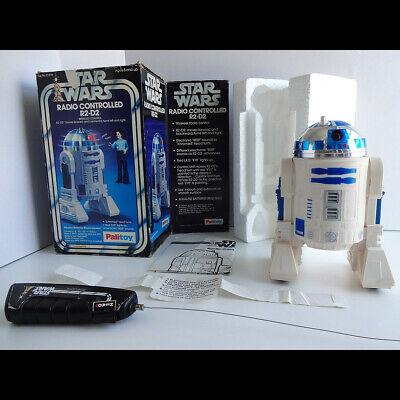 Vintage 1977 Palitoy Star Wars Remote Control R2-D2 + Original Box VG Condition
