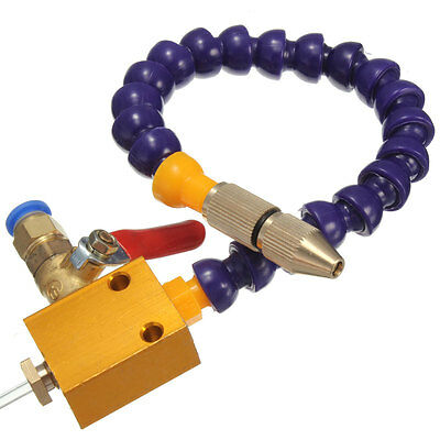 Mist Coolant Lubrication Spray System For 8mm Air Pipe Cnc Lathe Mill Drill A