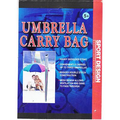 "Deluxe Beach Umbrella Shoulder Carry Bag, 48"" Long, Assorted Colors"