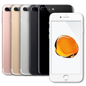 Details about Apple iPhone 7+ Plus 128GB (AT&T Cricket Straight Talk) 4G  LTE Smartphone Colors