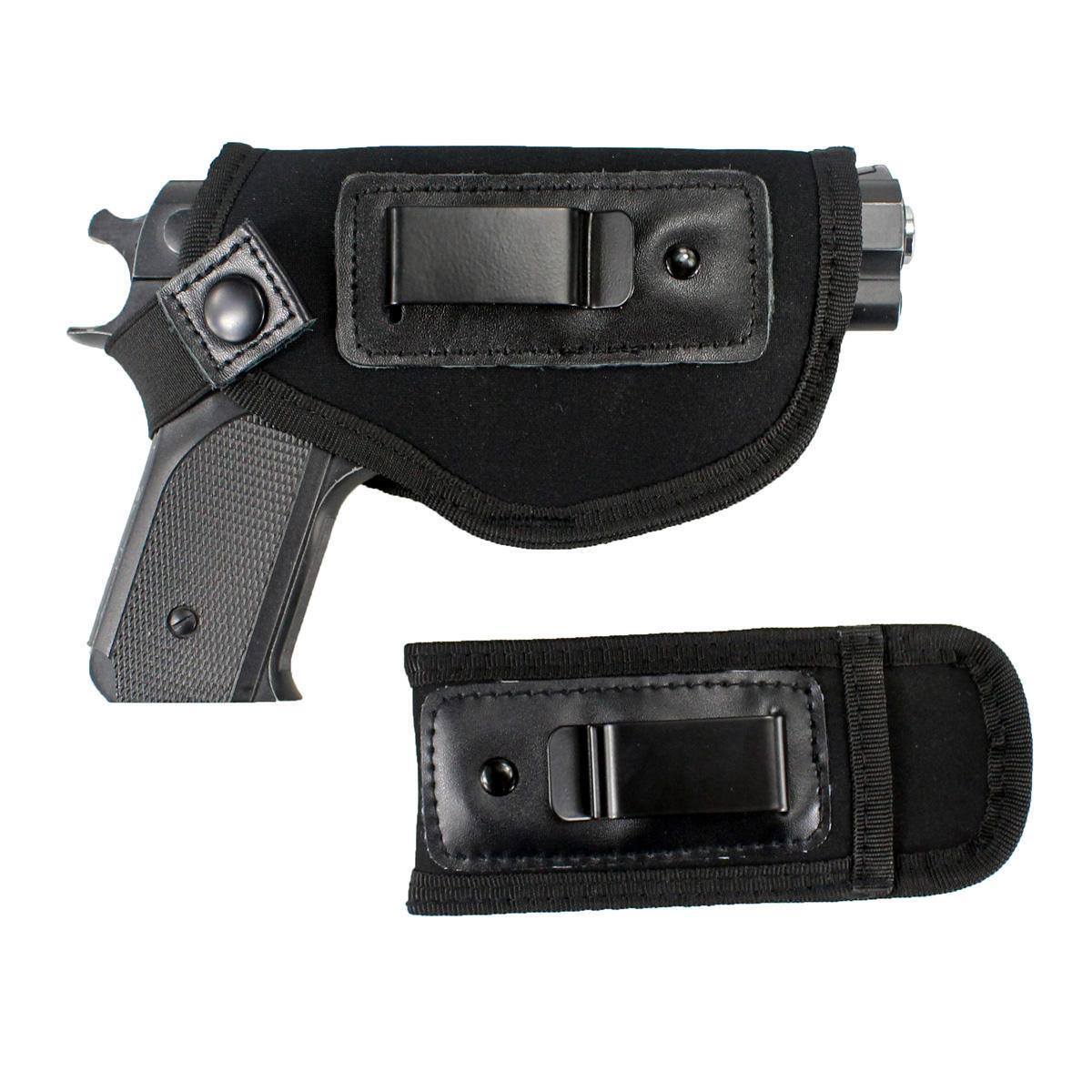 Universal Gun Holster Pouch Concealed Carry IWB Holster With Mag Holster
