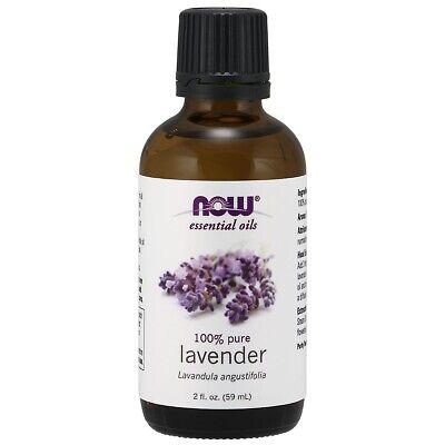 NOW Essential Oils Lavender Oil 100% Pure, 2 oz