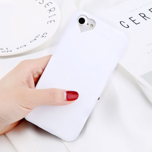 Silicone Back Phone Case Cover For Apple iPhone 5 SE 6 6s 7 Plus Slim Shockproof