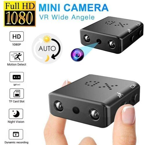 HD 1080P Hidden Mini Nanny Camera Night Vision Security Cam Motion Detection US Consumer Electronics
