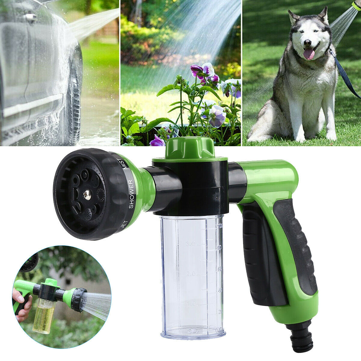 High-Pressure Sprayer Nozzle Hose Gun Car Pet Wash Cleaning