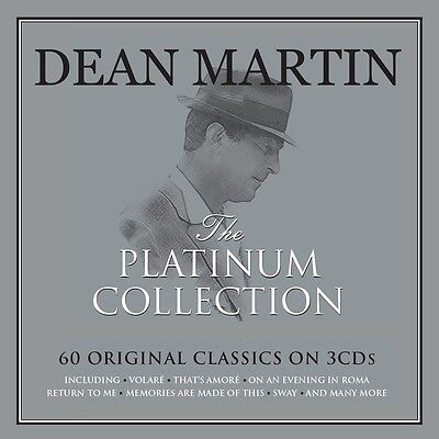 Dean Martin PLATINUM COLLECTION Best Of 60 Classic Songs ESSENTIAL New 3 CD (Best Dean Martin Song)
