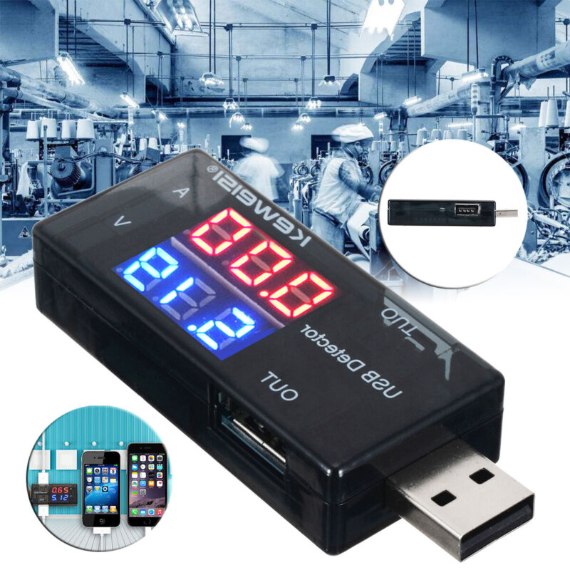 usb charger doctor current voltage detector battery