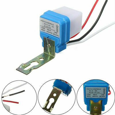 Automatic Auto On Off Street Light Switch Photo Control Sensor For Acdc 12220v