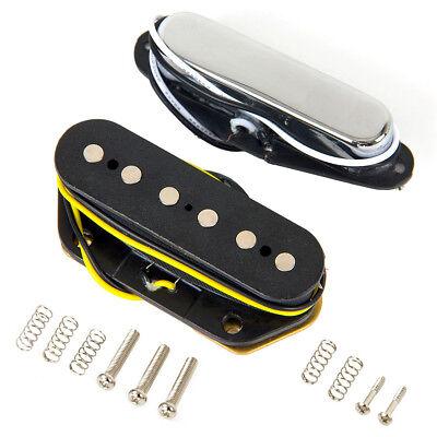 Guitarra Eléctrica Puente Y Cuello Camionetas Para FENDER Tele Estilo Recambio