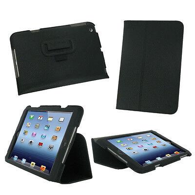 rooCASE Apple iPad Mini Folio Case Cover with Stand and Smart Cover (Ipad Mini Case With Smart Cover Function)