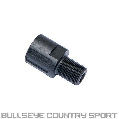 Asg Airsoft Evo 3 Scorpion Barrel Adapter 18 - 14mm Ccw 17950 Black Metal