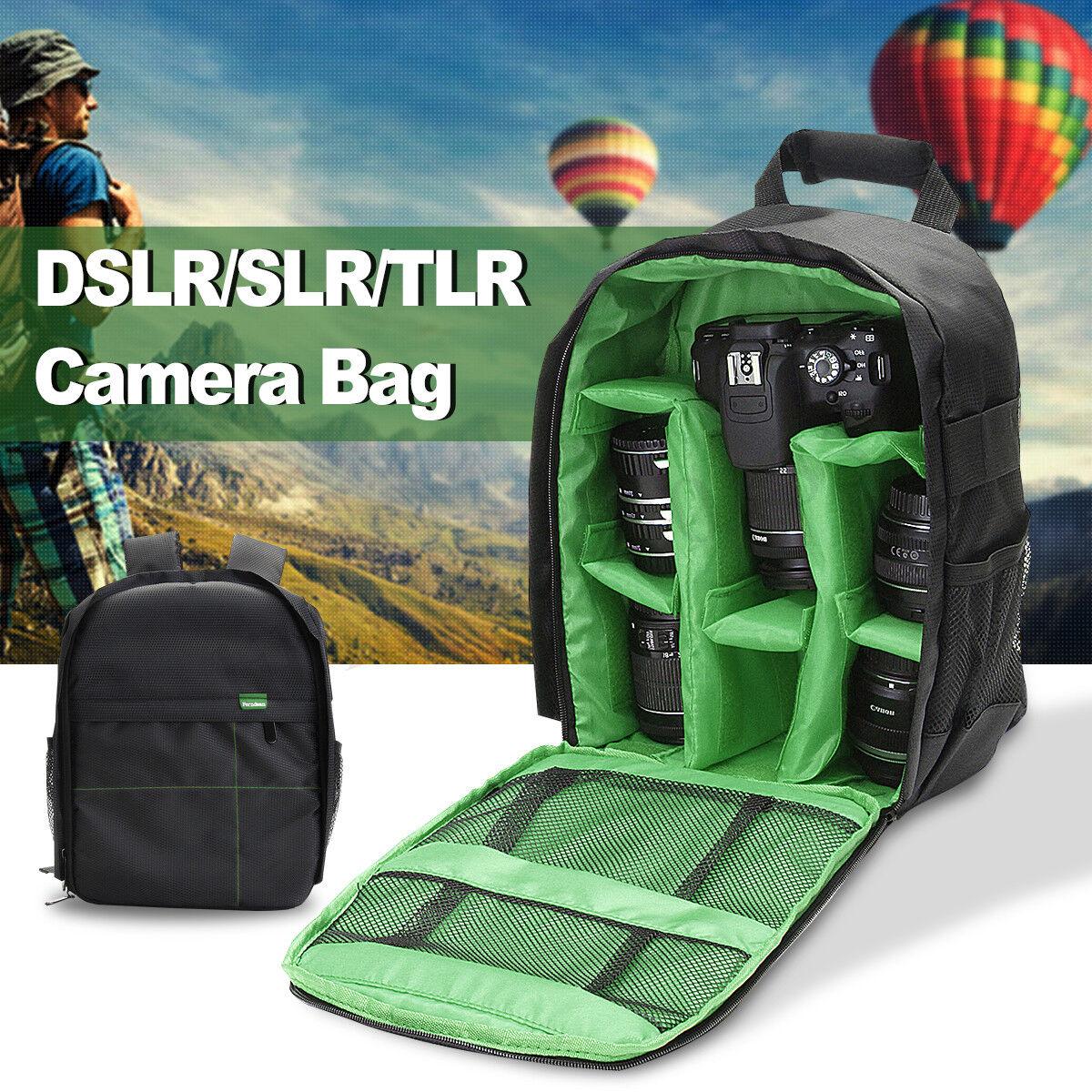 DSLR Camera Waterproof Backpack Shoulder Bag Case For Canon For Nikon For Sony