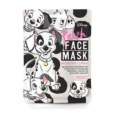 Disney Feuchtigkeits-Gesichts-Pflege-Maske 101 Dalmatiner Mad Beauty Tuch-Maske