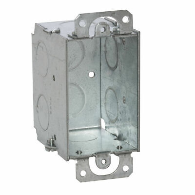 Raco 8500 Outlet Electrical Junction Box 12-12 Cu In - With Free Shipping