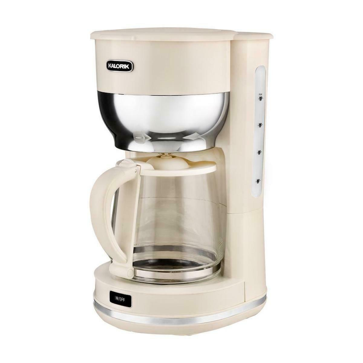 KALORIK 10 CUP RETRO COFFEE MAKER CERTIFIED REFURBISHED