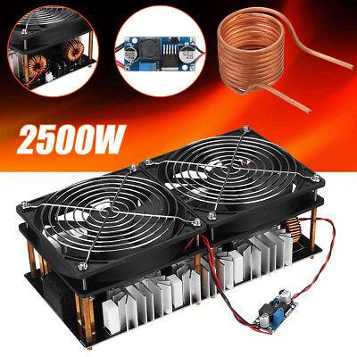 Zvs Induction Heating Board Module 2500w Flyback Driver Heatertesla Coilfan