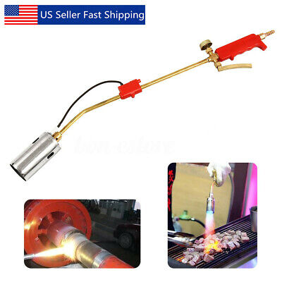 Portable Weed Lawn Landscape Torch Burner Hot Air Ice Melter Melting Garden