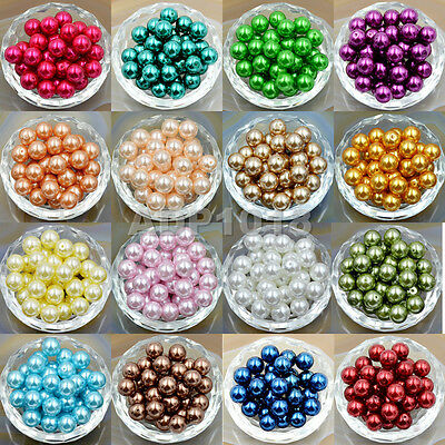 200pcs Top Quality Czech Glass Pearl Round Loose Beads 3mm 4mm 6mm 8mm 10mm 12mm 12mm Czech Glass Pearl Beads