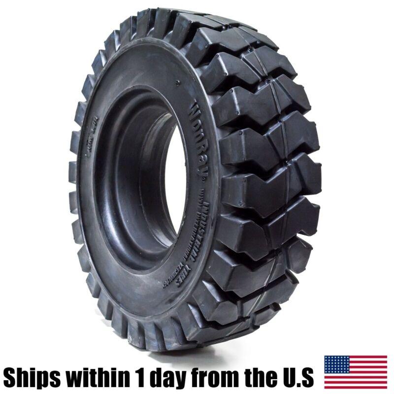 28x9-15 28x9x15 8.15x15 8.15-15 Solid Flat Proof Forklift Fork Lift Tire 81515