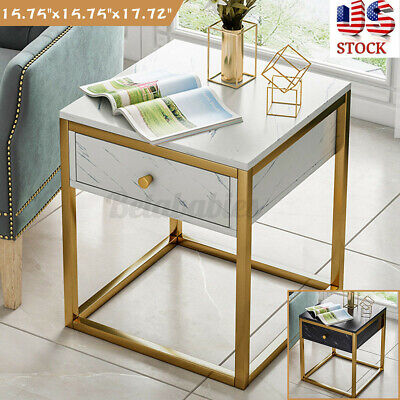 Coffee Tray Sofa Side End Table Drawer Lap Stand TV Snack Couch Room Home Desk
