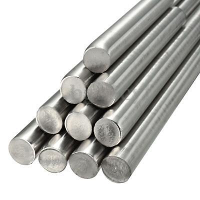 D 3-14mm Stainless Steel 304 Round Metal Bar Solid Rod Metal Milling Welding Us
