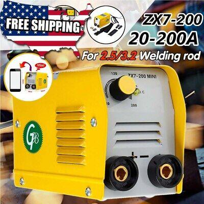 Mini Welding Machine Inverter Welder Arc Mma Electric Igbt Stick 220v Handheld