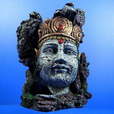 Aquarium Decorations Buddha Statue Cave - Goddess of Mercy Tropical Fish Tank - Tropical Fish Decorations
