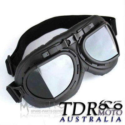2fffe351c1 NEW Vintage Aviator Goggles Cosplay Gothic Steampunk Burning Man Glasses  Goggles