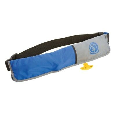 - Airhead Manual M-16 Inflatable Paddle-board Belt Pack Life Jacket PFD Blue/Grey