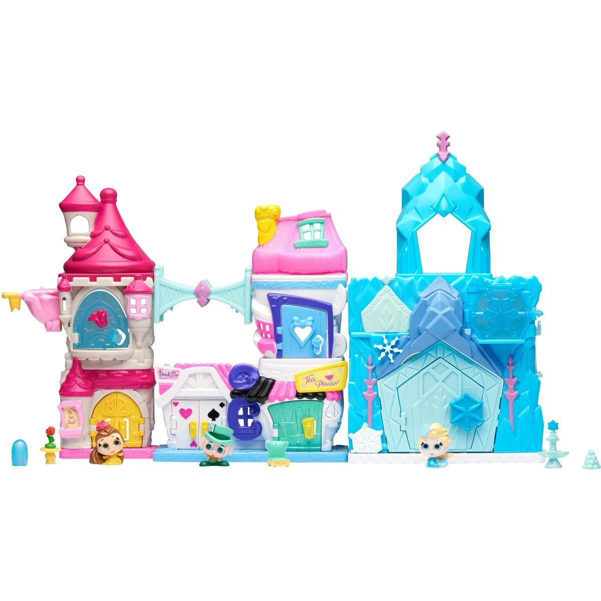 Details About NEW Disney Doorables Mega Stack Build Playset Surprises Elsa Belle Birthday Gift