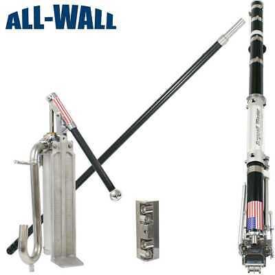 Drywall Master Pro Taping Set Wtaper Pump Gooseneck And Free Corner Roller