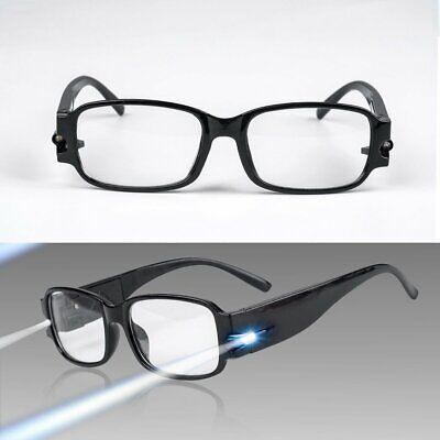 Eyeglasses With Lights (NEW Rimmed Reading Eye Glasses Eyeglasses Spectacal With LED Light)