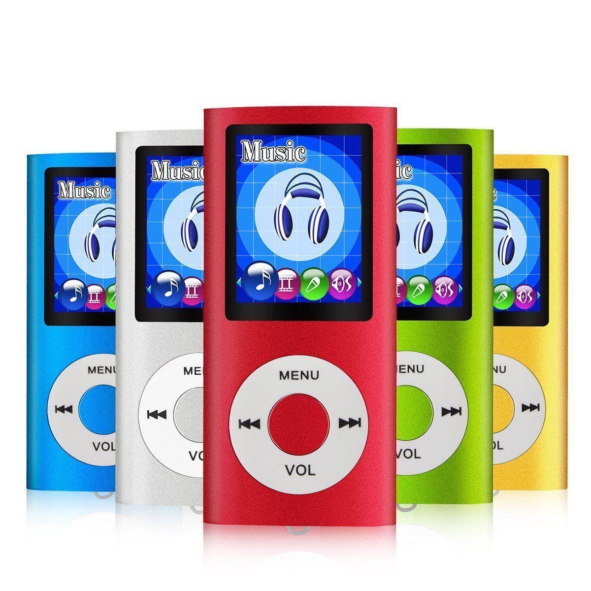 LETTORE PLAYER MP4 MP3 4GB 8GB 16GB 32GB VIDEO AUDIO FOTO RADIO FM nuovo 2018