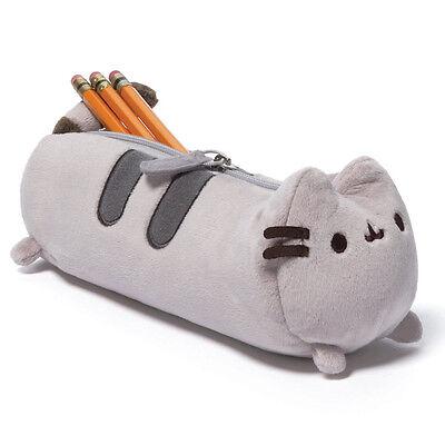 NEW OFFICIAL GUND Pusheen The Cat Plush Soft Pencil Case 4048878