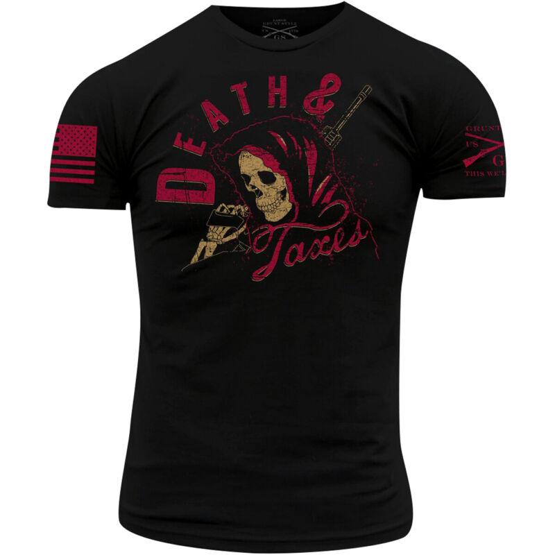 Grunt Style Death & Taxes T-Shirt - Black