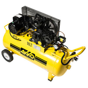 Air Compressor - Single Phase Piston 3.5HP 90L- Quality Checked. Wangara Wanneroo Area Preview