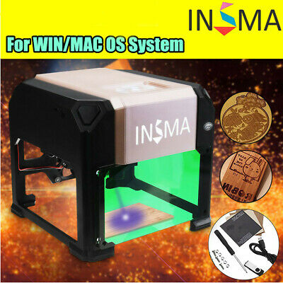 3d Cnc Laser Engraving Cutting Machine Usb Engraver Diy Logo Mark Printer