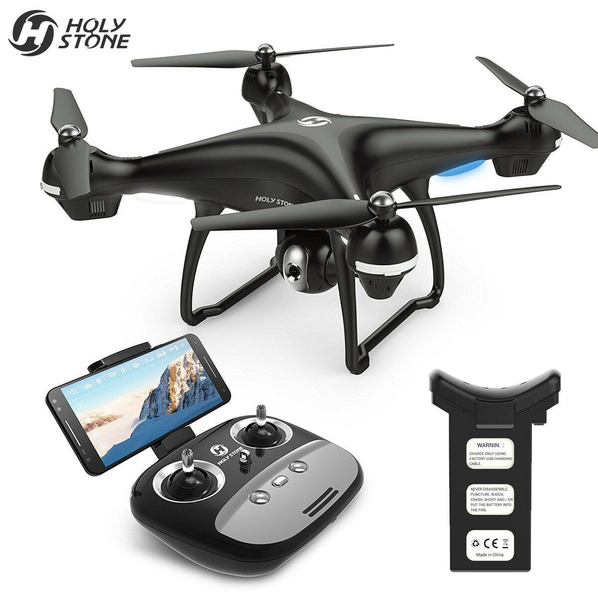 Holy Stone HS100 GPS FPV Drone...