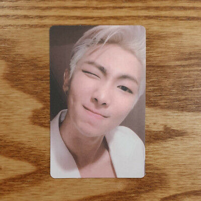 RM Official Photocard BTS Map Of The Soul : Persona Ver 2 Genuine Kpop